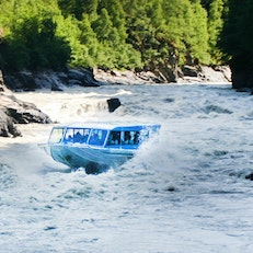 Jetboating and Floating the Talkeetna River