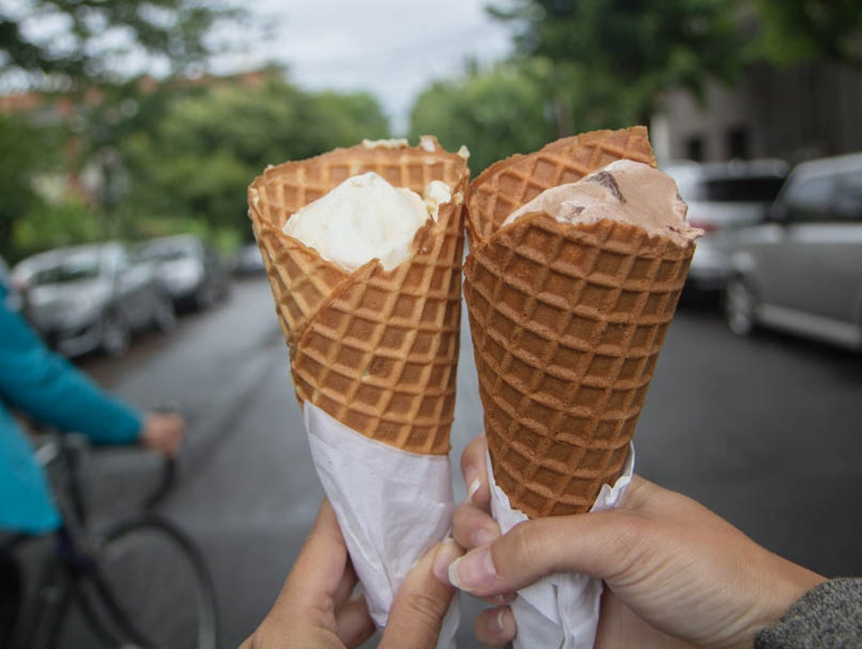 Devour Artisanal ice cream at Portland's Own Salt & Straw Portland Oregon United States