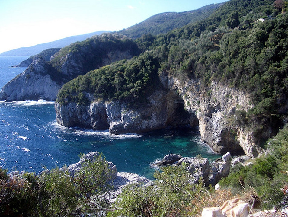 Coasteering on the Pelion Peninsula  Pourianos Stavros  Greece