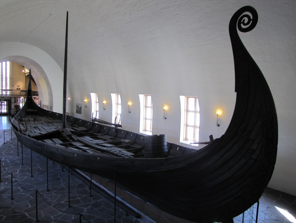 The Viking Ship Museum Oslo  Norway