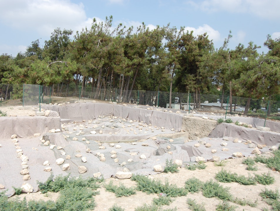 Explore the mound of the former port of Tarsus Tarsus  Turkey