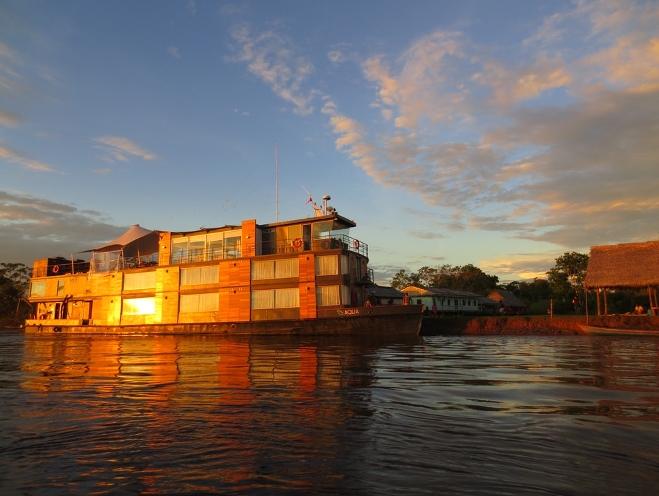 Cruising the Amazon River and Tributaries Lagunas  Peru