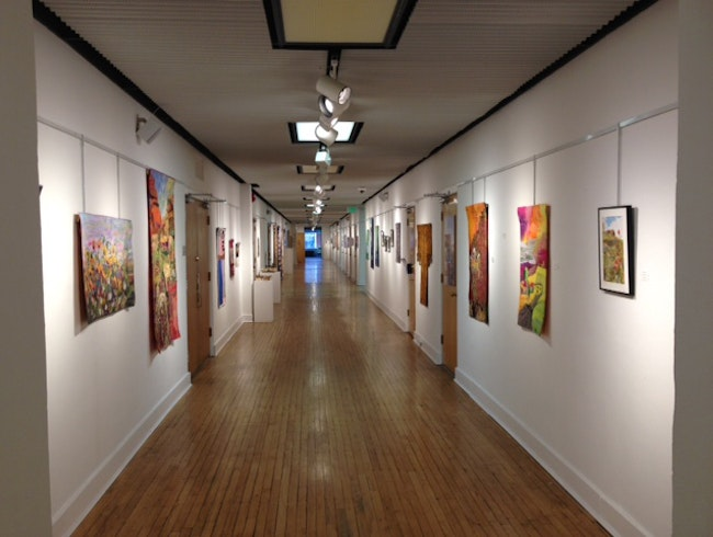 Local Talent Showcased in the Halls of the Red Brick Building