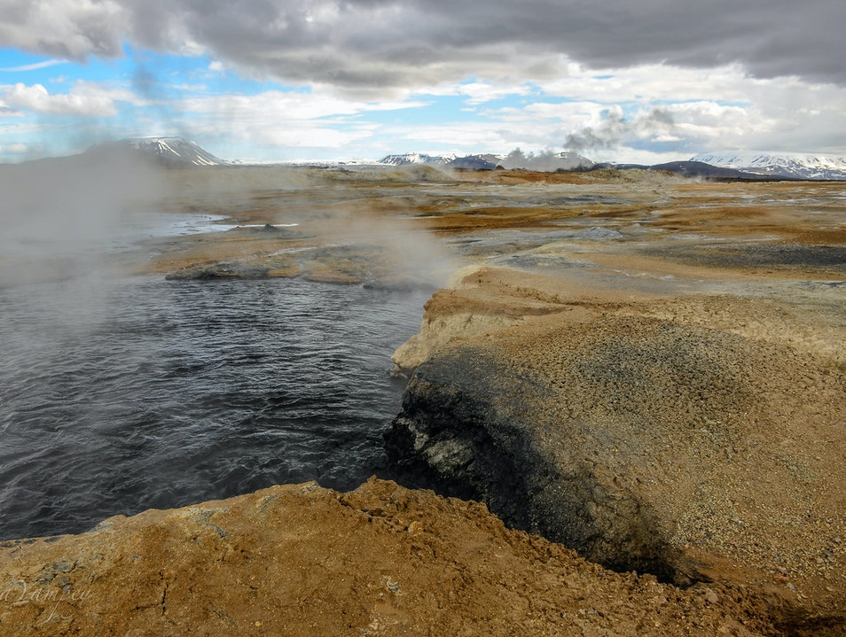 Geothermal Energy Northeast  Iceland