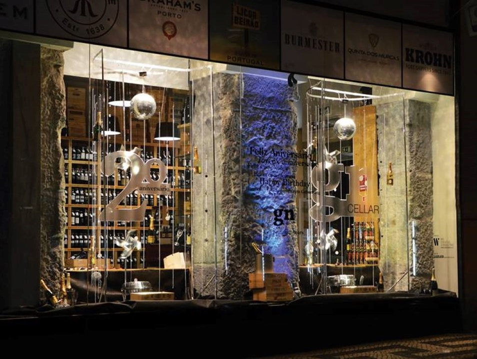 First Class Portuguese Wine Shop Lisboa  Portugal