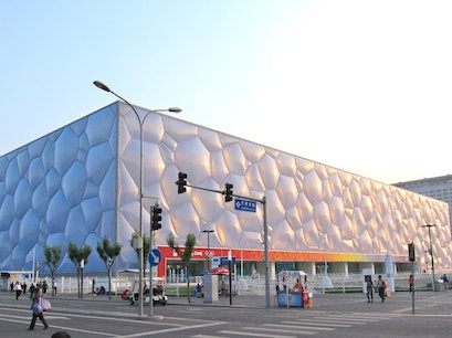 Beijing National Aquatics Center Beijing  China