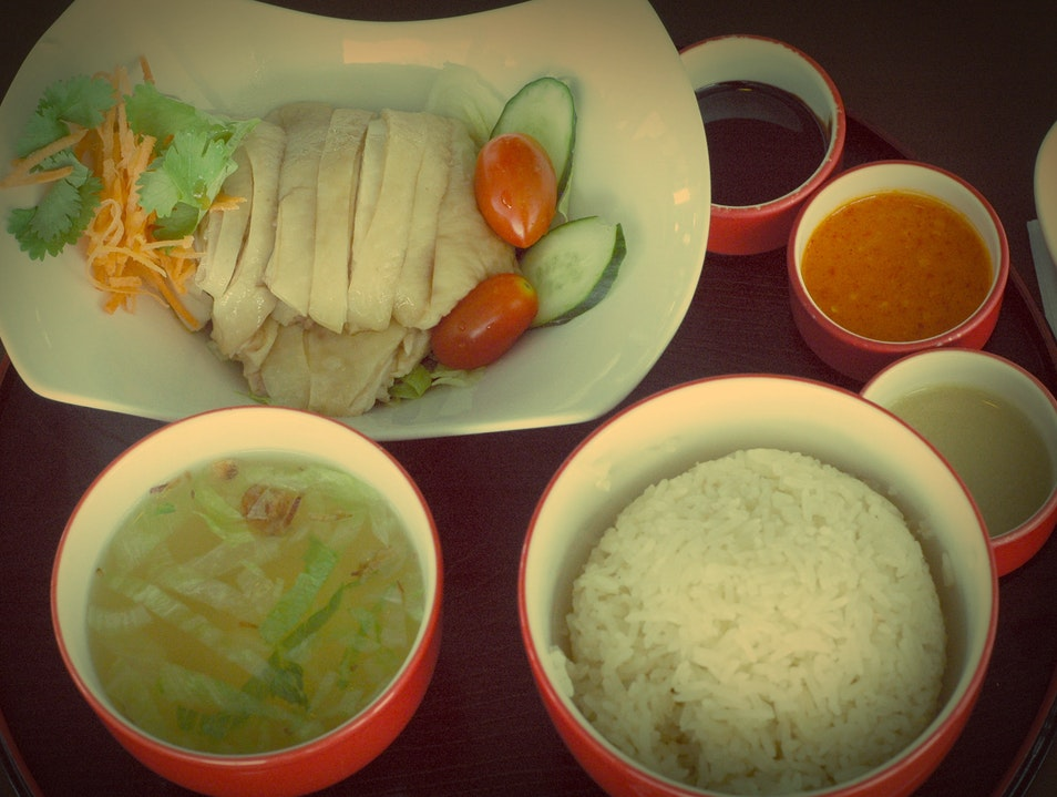 The Famous Hainanese Chicken