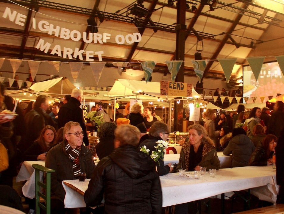 NeighbourFood Market: Fantasyland for Foodies Amsterdam  The Netherlands