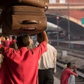 Street Photography with Vicky Roy New Delhi Railway Station New Delhi  India