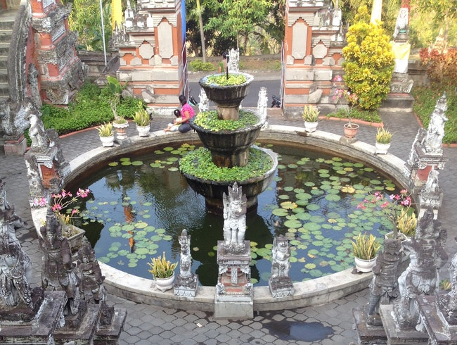 Still Your Mind at a Balinese Temple
