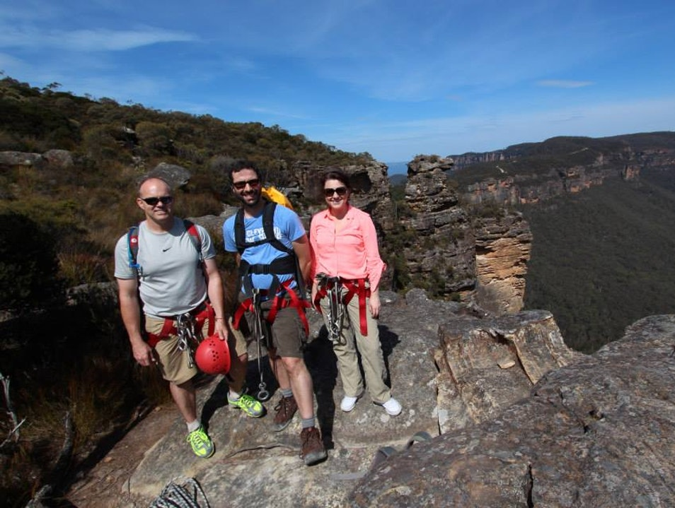 Your Guides for Mountain Adventures in the Blues Katoomba  Australia