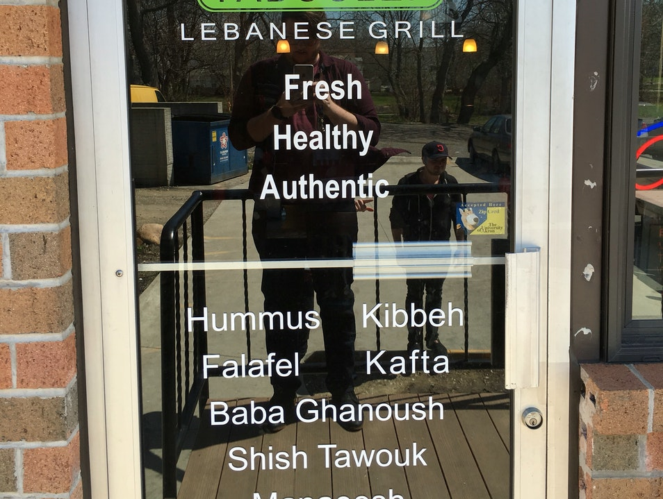 Authentic Lebanese at home in Akron Akron Ohio United States