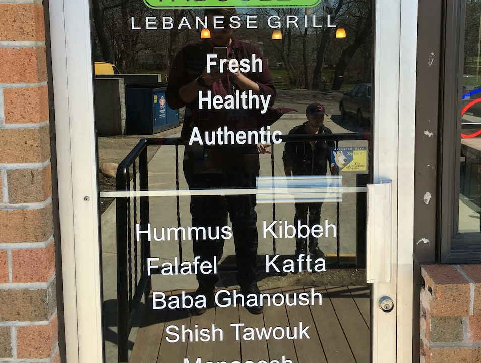 Authentic Lebanese at home in Akron