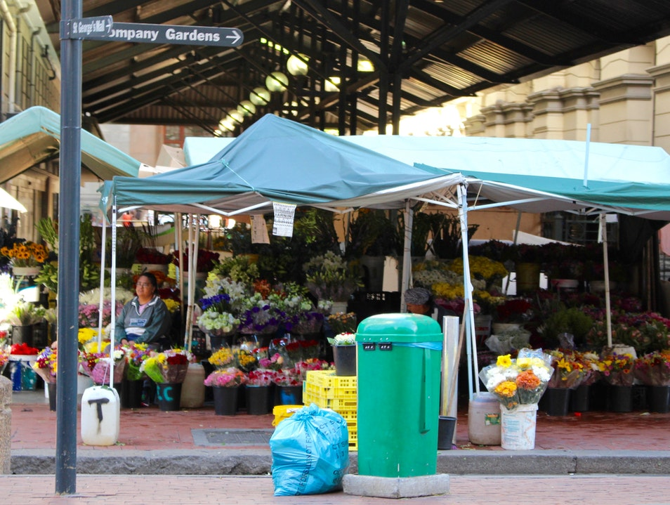 Shop the Adderley Street Flower Market Cape Town  South Africa
