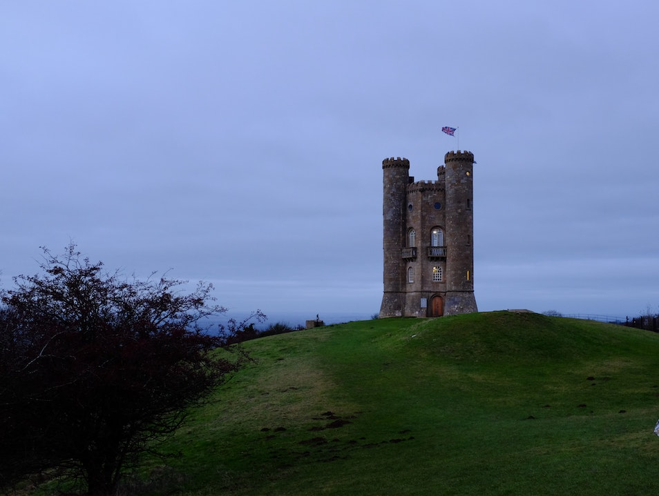 Breathtaking views from the Broadway Tower Chipping Campden  United Kingdom