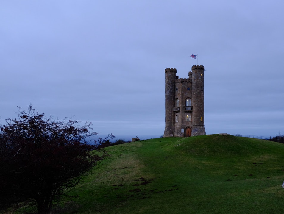 Breathtaking views from the Broadway Tower