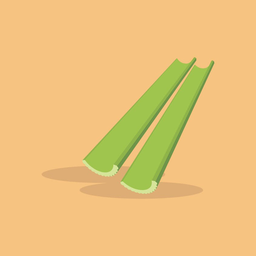 Balancy healthy fats with veggies such as celery sticks to avoid lethargy on long drives.