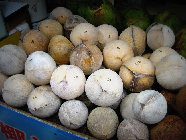 Coconut Water: Relief from the Heat