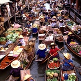 Amphawa Floating Marketing