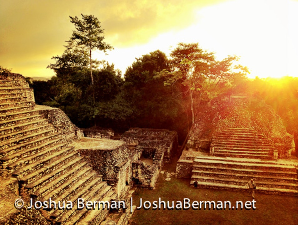 Dawn of a New Era: Solstice Sunrise from Caana Chiquibil Forest Reserve  Belize