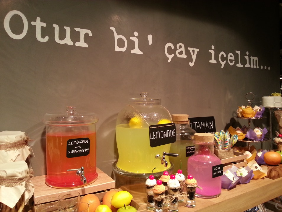 Colorful Bakery in Sultanahmet