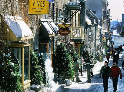 Petit Champlain District Quebec City  Canada