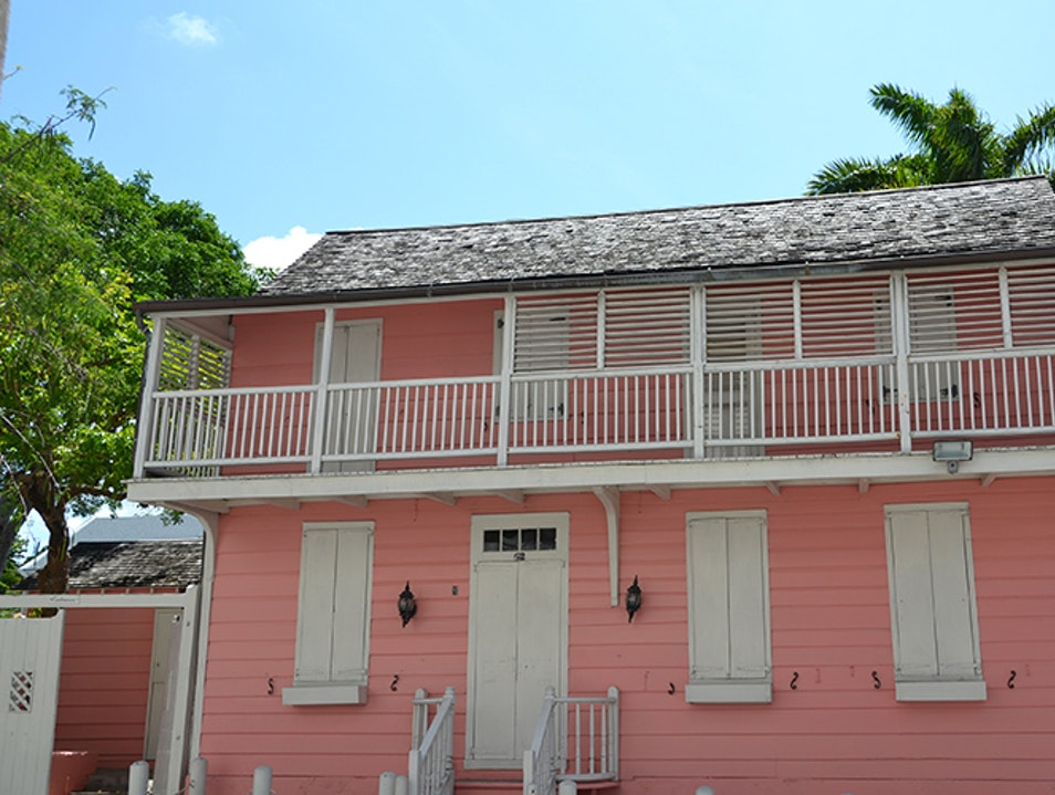 Balcony House Museum Nassau  The Bahamas