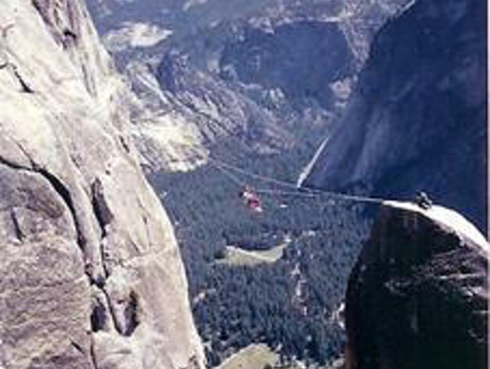 Lost Arrow Spire, One of the Most Untouched Peaks Yosemite National Park California United States