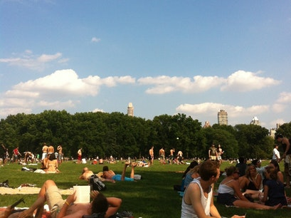 Sheep Meadow New York New York United States