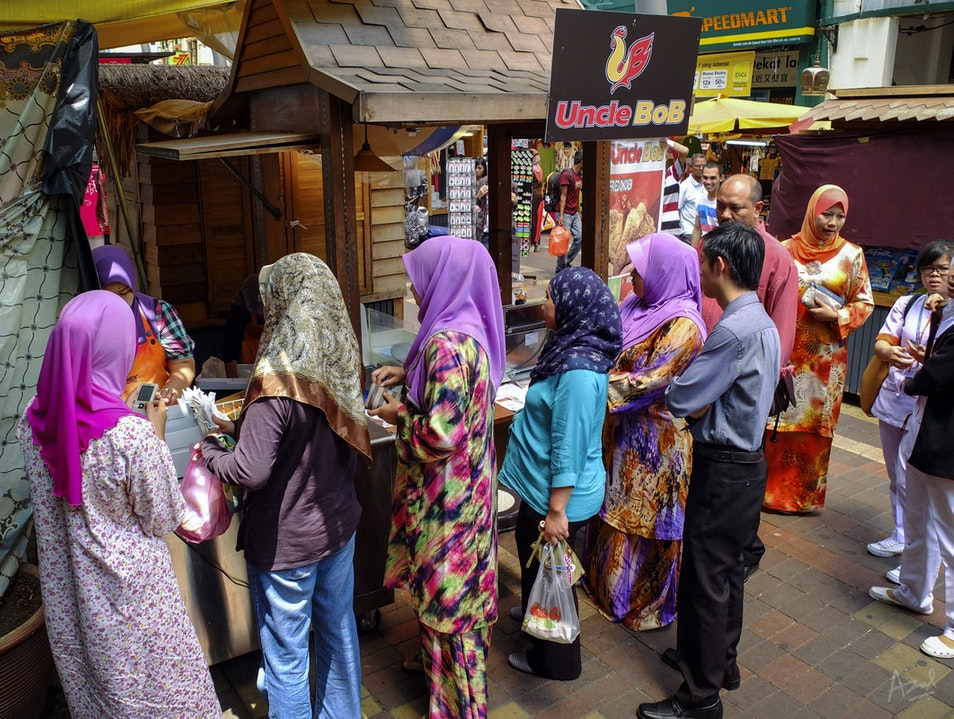 You know it's good when there's a queue Kuala Lumpur  Malaysia