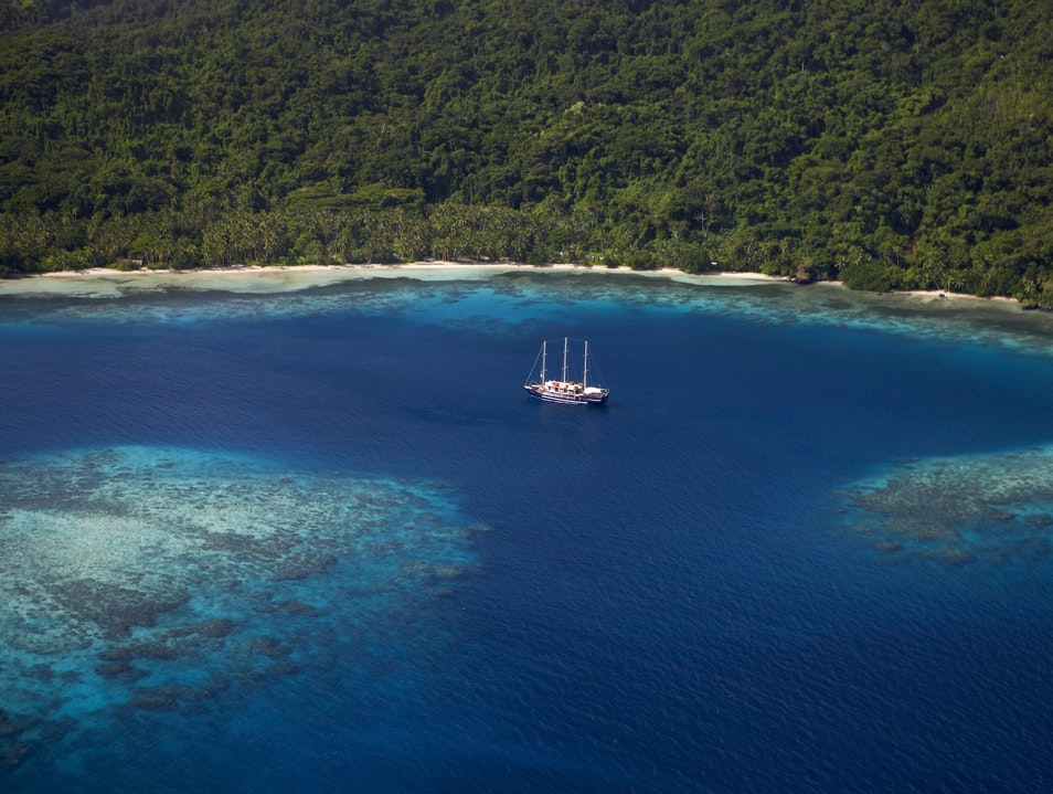 Take a Romantic Sail Through Fiji