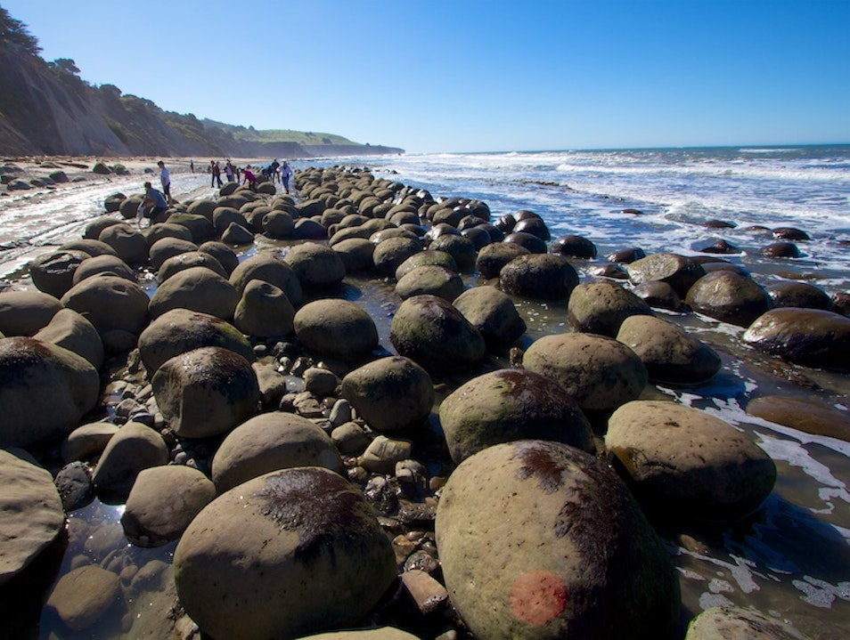 Bowling Ball Beach Point Arena California United States