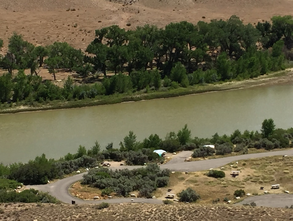 Dinosaur National Monument: Camping on the Green River Jensen Utah United States
