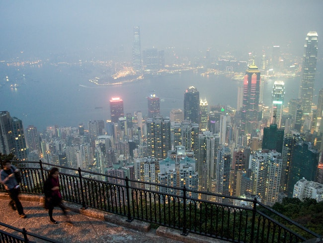 Hike Above Hong Kong's Skyscrapers