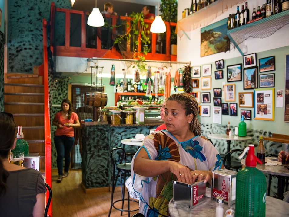 Count the Countless Cafes, Barcelona, Spain. Barcelona  Spain