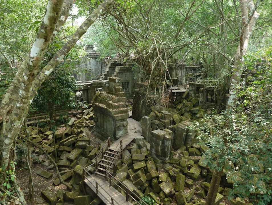 Indiana Jones For A Day Beng Mealea  Cambodia