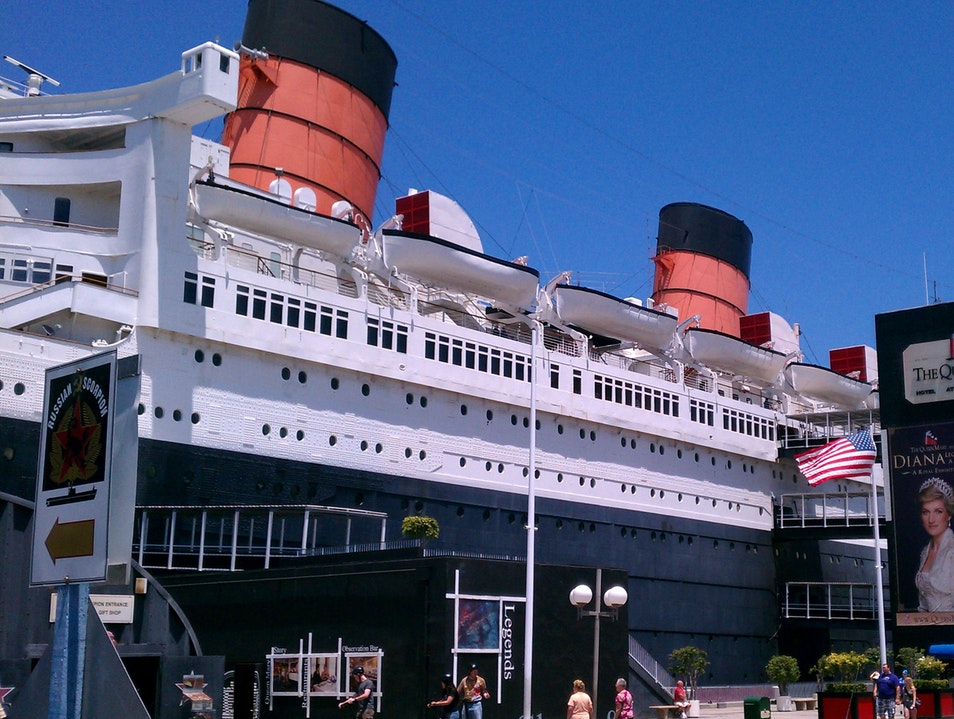 All Hail the Queen Mary Long Beach California United States