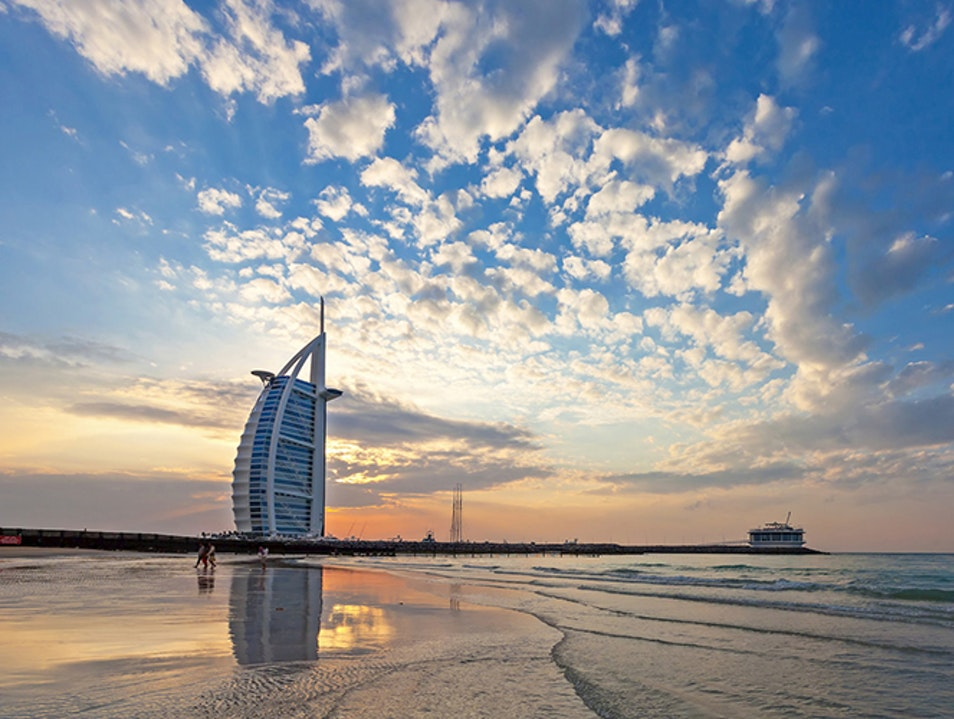 Sunset Beach Dubai  United Arab Emirates