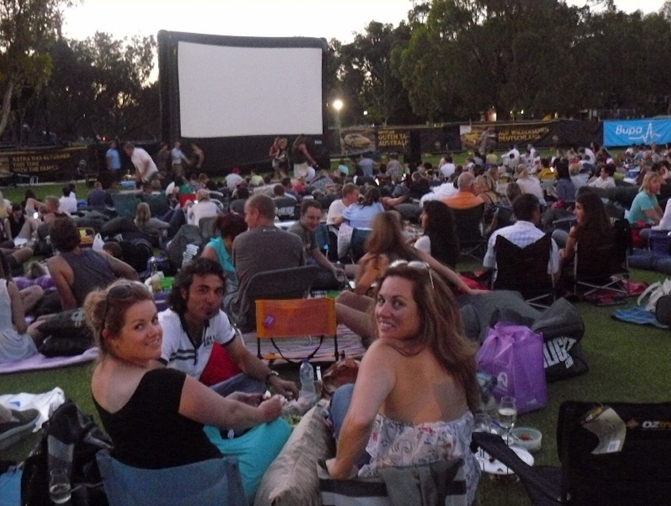 Let's go to the movies under the stars Perth  Australia