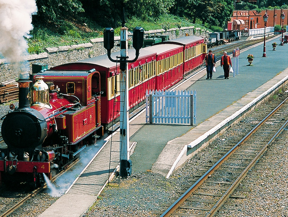 The Isle of Man Steam Railway and Heritage Trail Douglas  Isle of Man