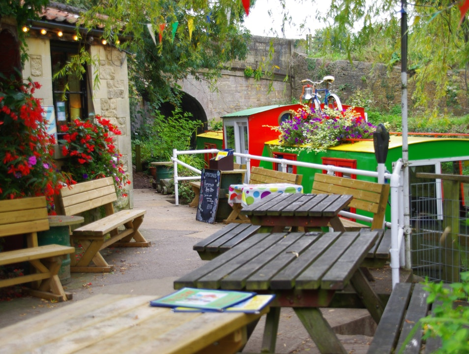Cafe on the Canal Bradford-on-Avon  United Kingdom