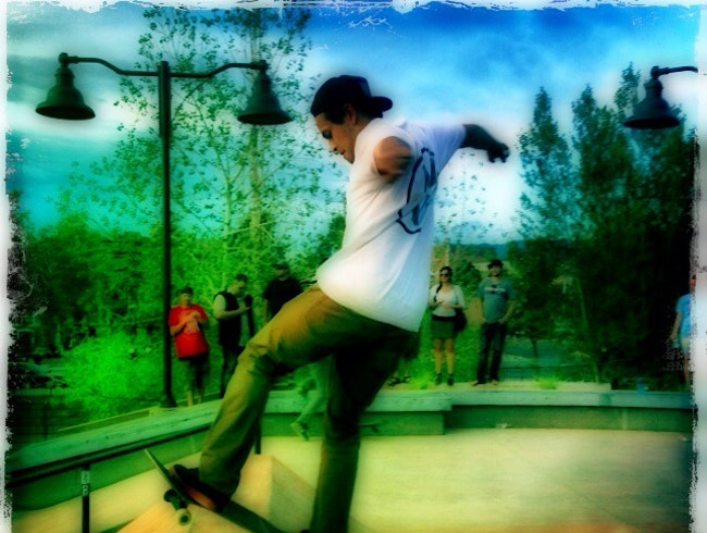 The New Skateboard Park At Devargas