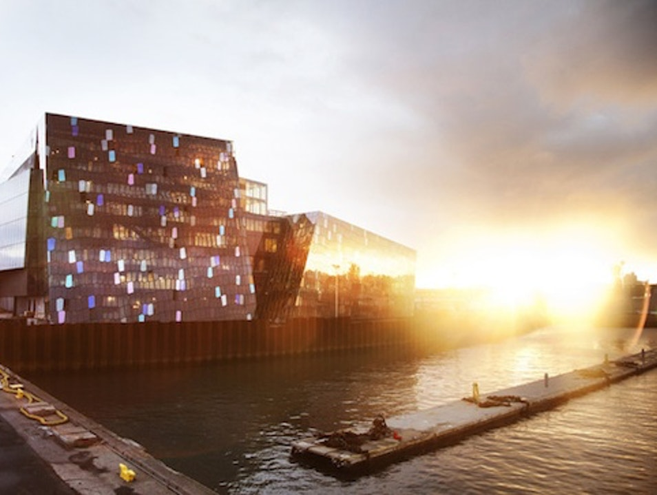 Reykjavik's Harpa Concert Hall, With Help From Olafur Eliasson