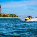 Water Sports at All Speeds Sanibel Florida United States