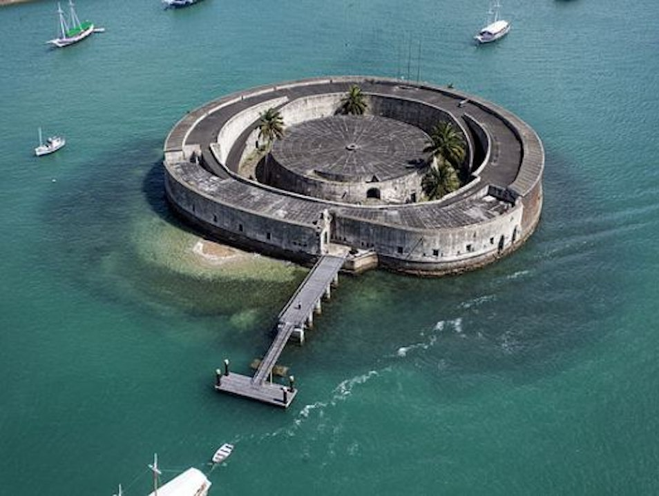 Forte São Marcelo: A fortress in the middle of the ocean