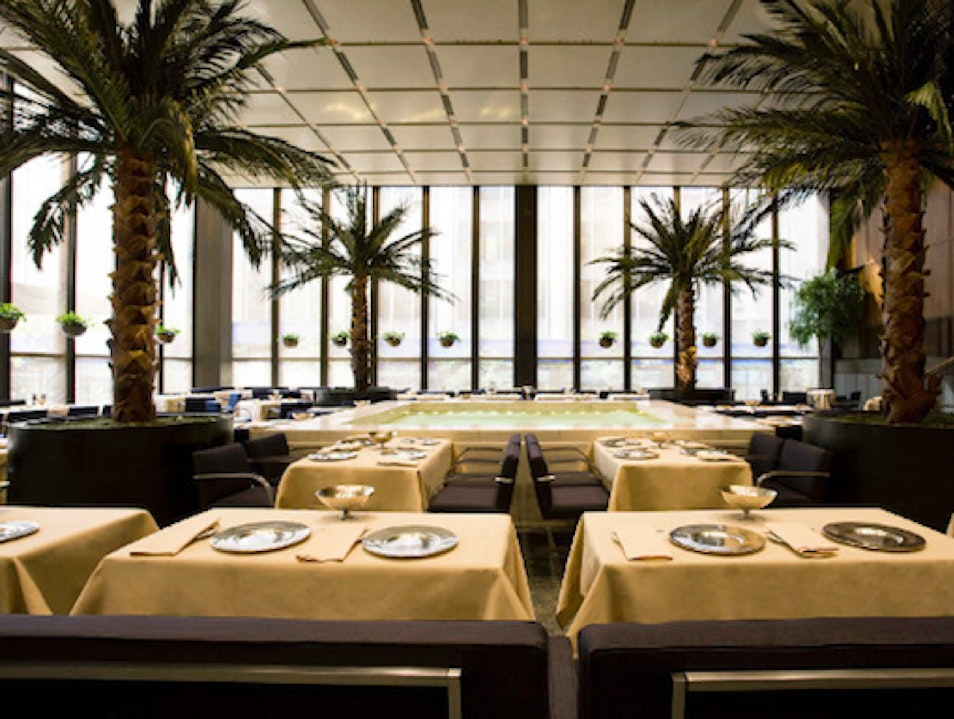 Four Seasons Restaurant New York New York United States