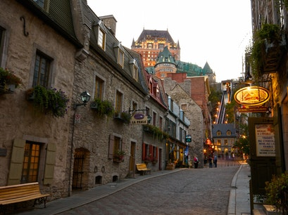 Lower Town of Old Québec Quebec  Canada