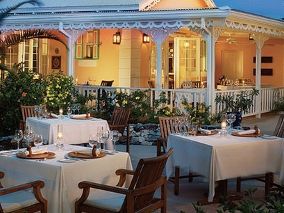 Grace's Cottage Restaurant Grace Bay  Turks and Caicos Islands