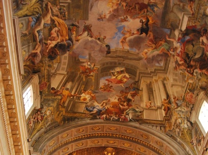 Saint Ignatius Church Rome  Italy