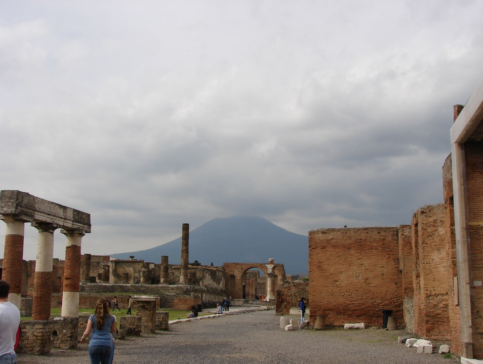 Exploring the Shadow of Vesuvius Pompei  Italy